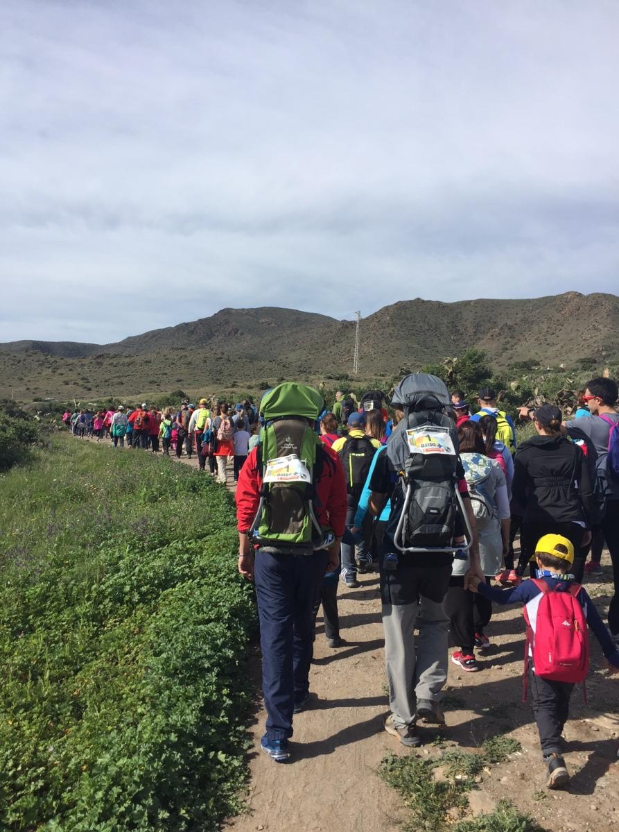 Trail Kids Cabo de Gata                                  (Seis años y dos niños después)
