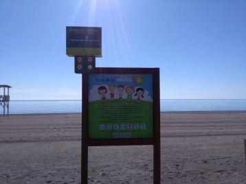 Playa de la infancia