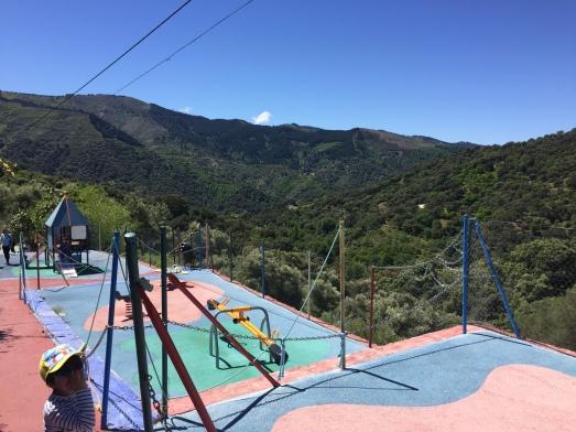 Parque con vistas panormámicas