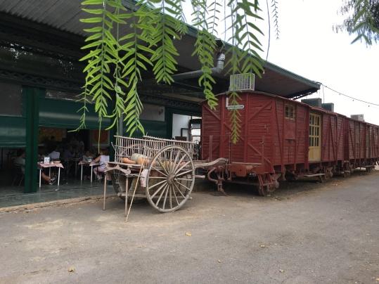 Vagones donde se puede comer