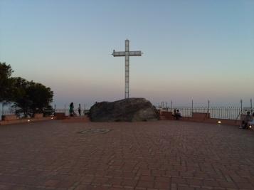 Mirador de los Peñones de San Cristóbal y de la bahía de Almuñecar