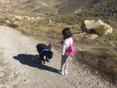 Buscando los granates