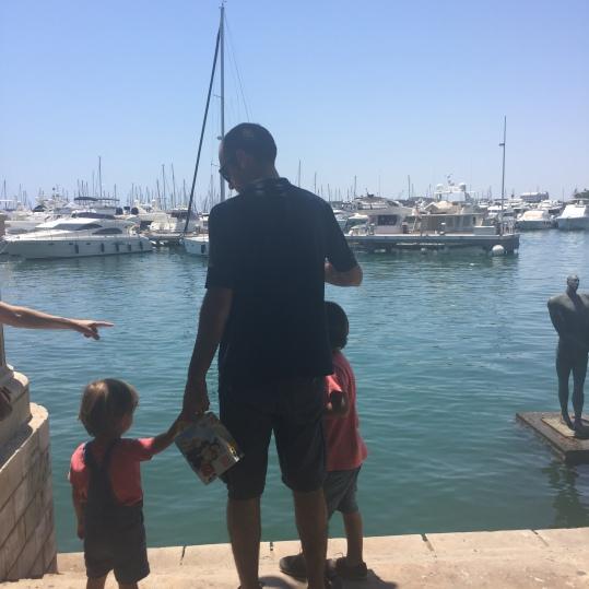 Manolo con Mario y Jorge