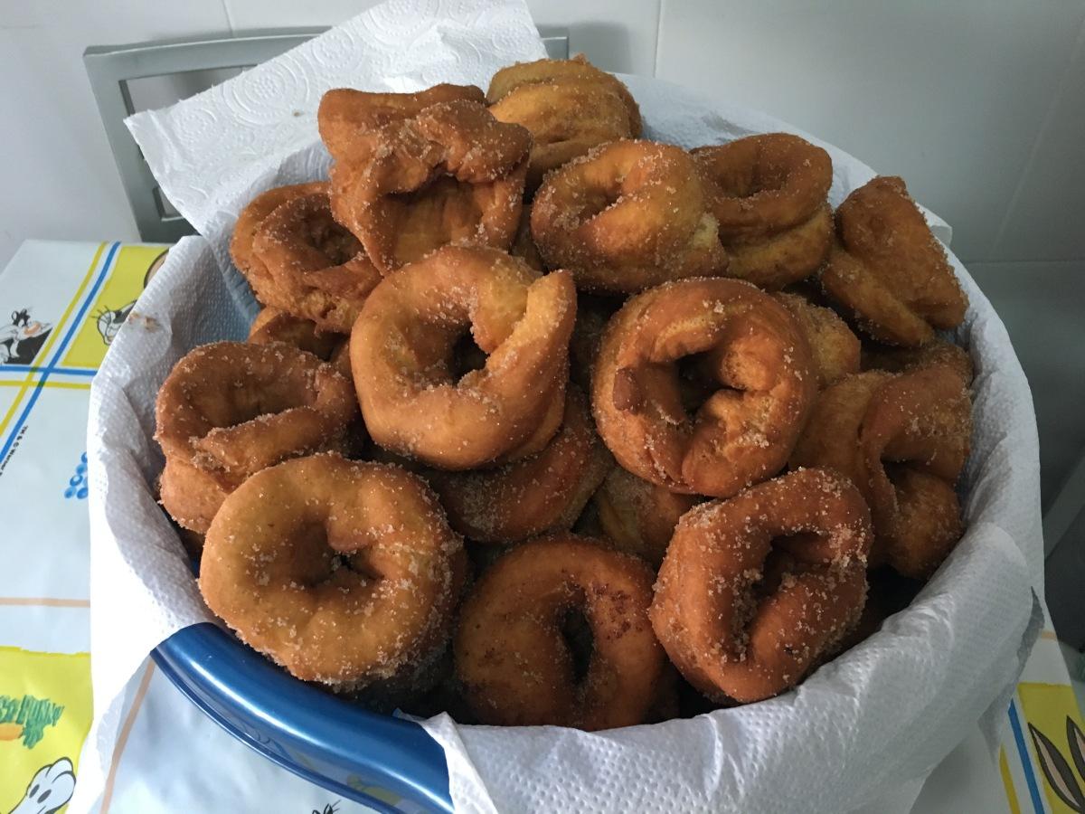 #SemanaSanta: roscos fritos de la mamica