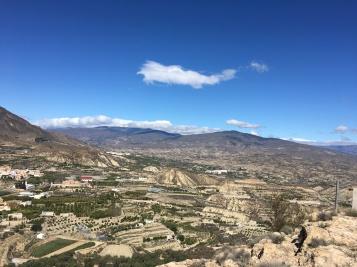 Sierra Nevada, el primer pico es Montenegro