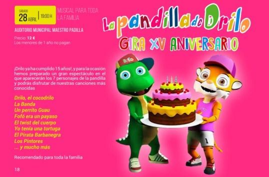 La-Pandilla-de-Drilo-Gira-XV-Aniversario