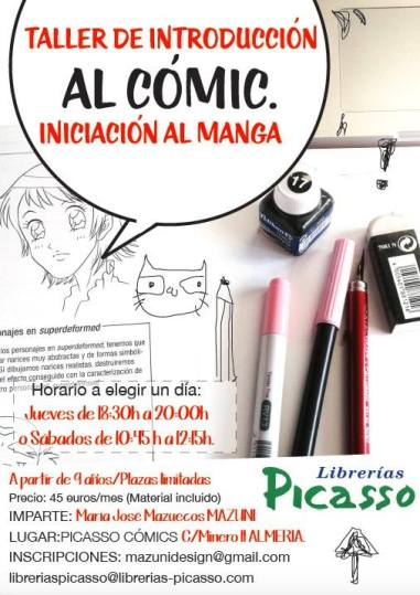 taller de introduccion al comic