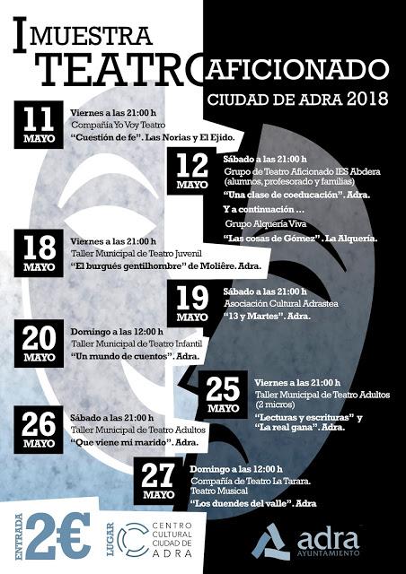 Cartel Muestra Teatro Aficionado - copia