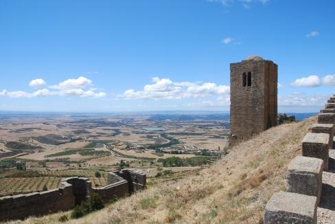 Vistas desde Castillo de Loarre
