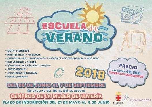 escuela de verano almeria