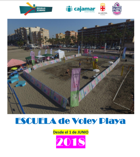 escuela de voley playa