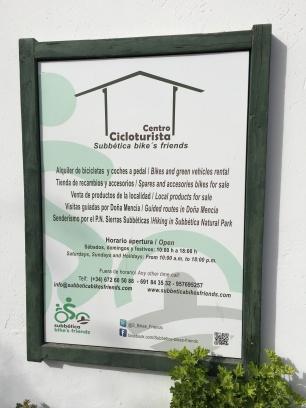 Centro CicloTurista Subbetica - Estación de Doña Mencía