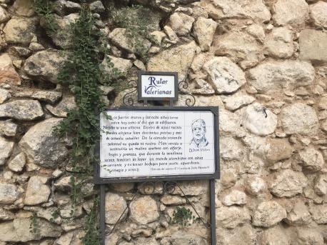 Ruta Valeriana en Doña Mencía