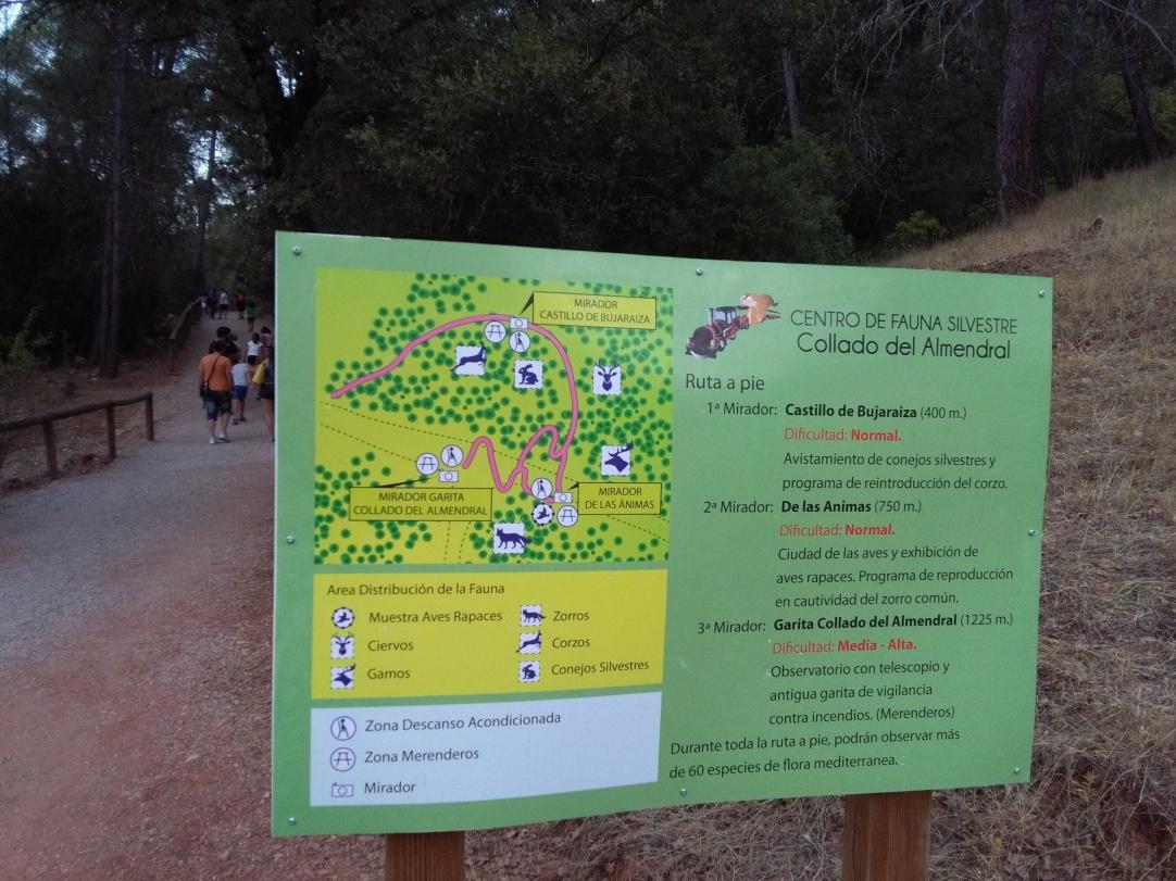 Parque de Fauna Silvestre Collado del Almendaral