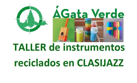 taller de instrumentos reciclados clasijazz