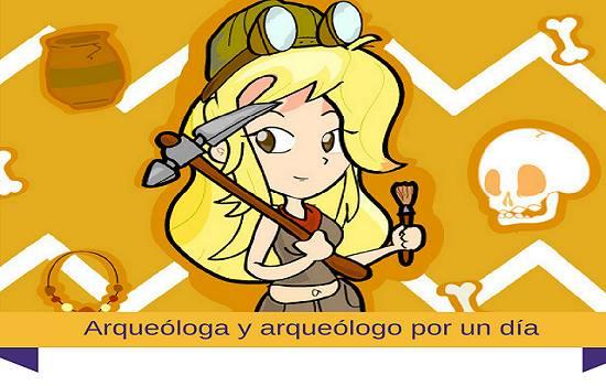 arqueologo y arqueologa por un dia