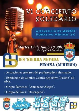 concierto solidario fiñana