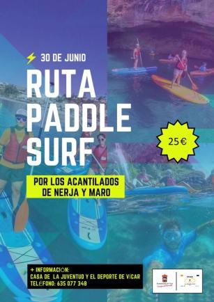 ruta paddel surf