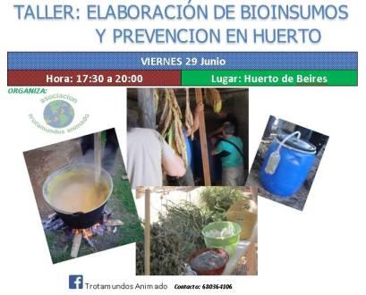 taller de bioinsumos