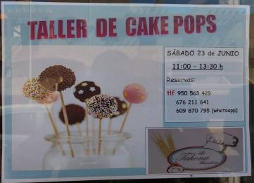taller de cake pops y fondant
