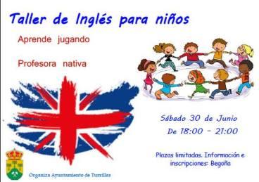 taller de ingles para niños en turrillas