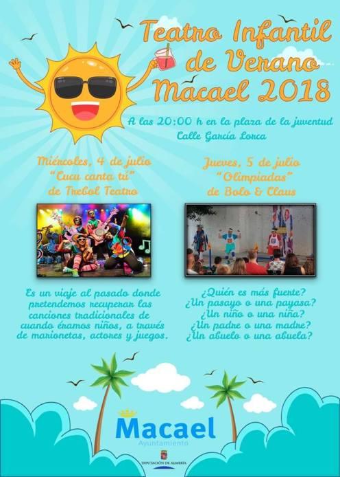 teatro infantil de verano