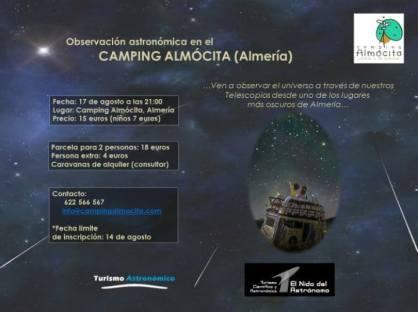 camping almocita
