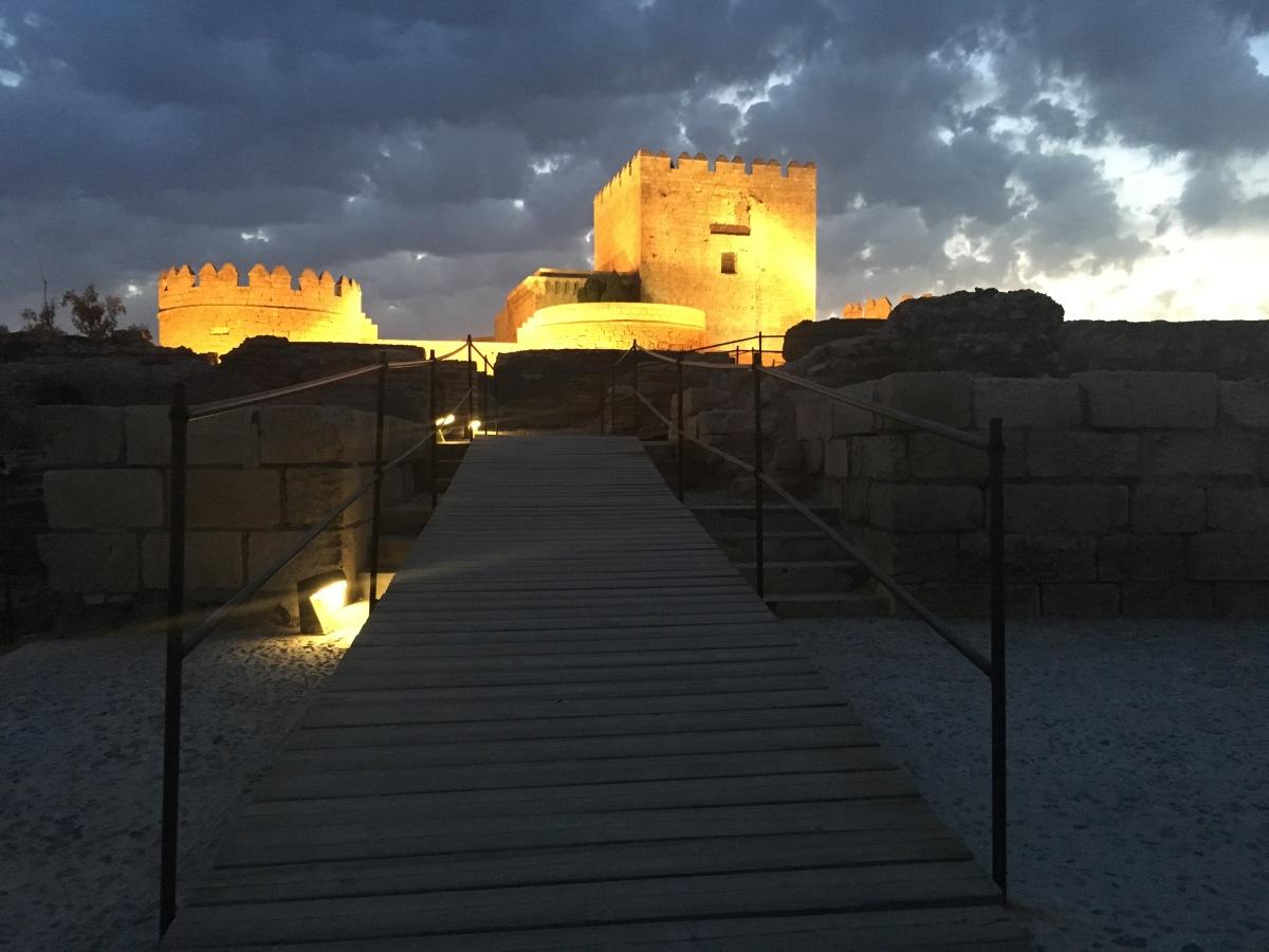 #QuedadaOculta en Alcazaba de Almería #NochesdeAlcazaba