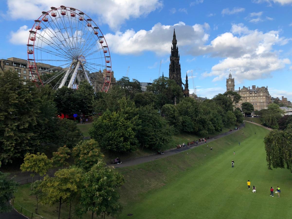 Un día en Edimburgo con niños.