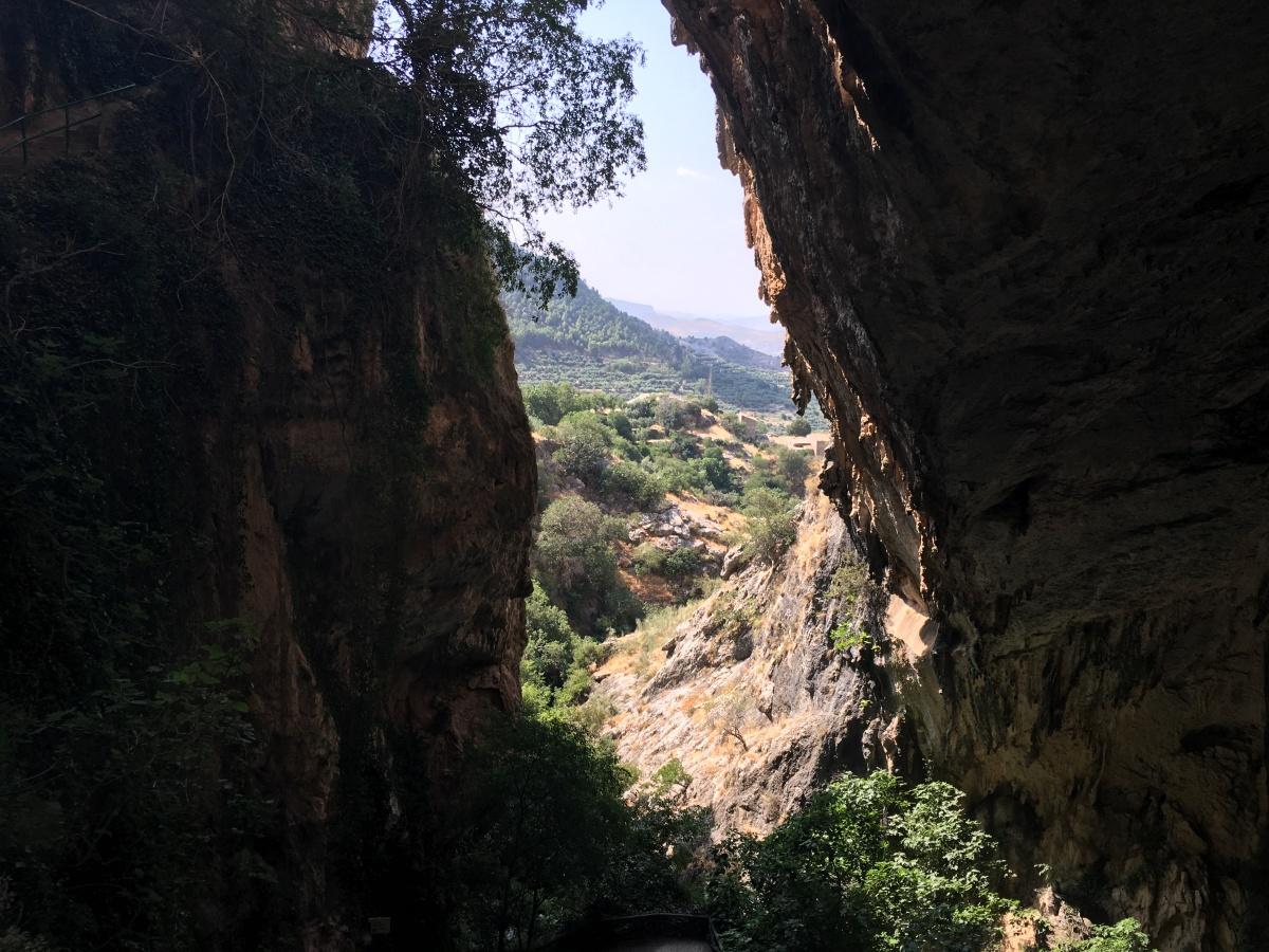 La Cueva del Agua de Tíscar con niños