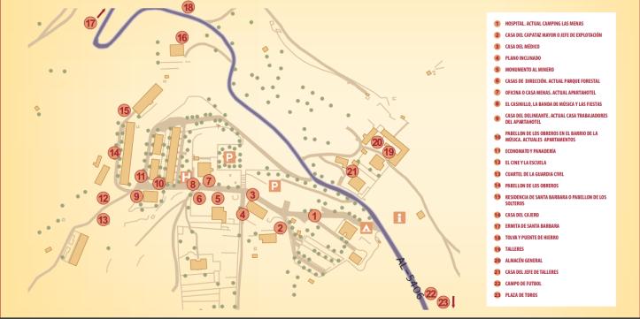 mapa de las menas