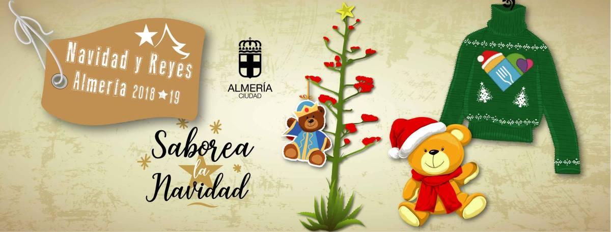 Almería Ciudad en Navidad con niños - Saborea la Navidad