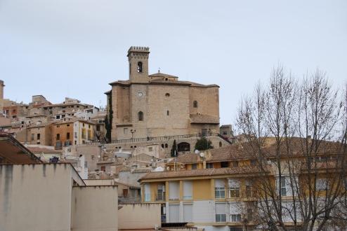 Vista desde la entrada del Moratalla
