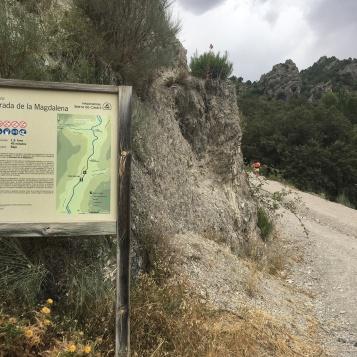 Comienzo del Sendero de La Magdalena