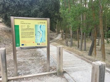 Sendero Puente de Lézar